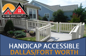 Handicap Accessible homes for Sale in the Dallas - Fort Worth area
