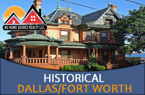 Historical Homes for Sale in the Dallas- Fort Worth area