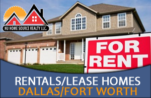 Rental Homes in the Dallas - Fort Worth Area